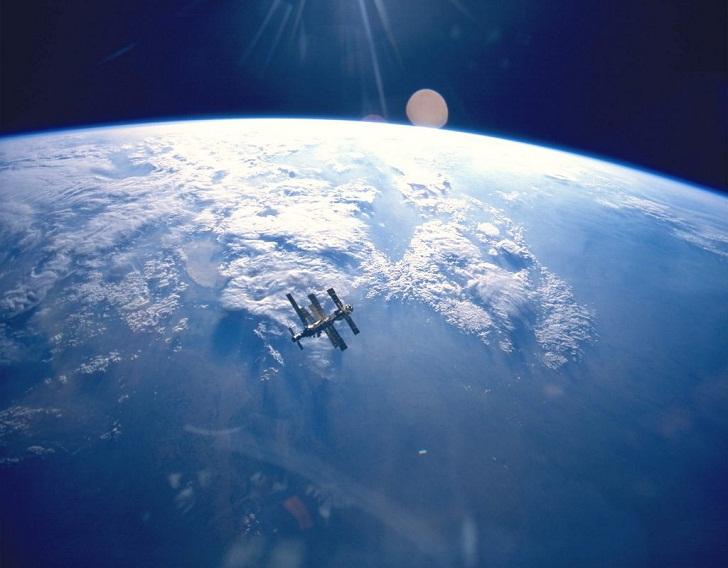 Спутник фото земли из космоса