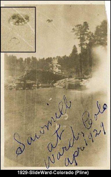 Уникальные Фото НЛО за 1870-1944 год (7 фото)