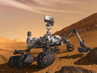 Марсоход curiosity не обнаружил в