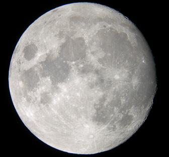 Луна в реальном времени видео