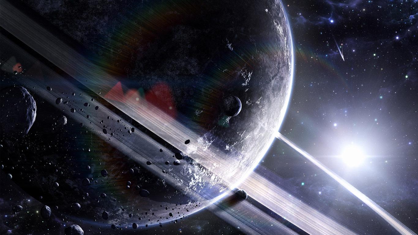 Видео путешествие по Вселенной  Спутник